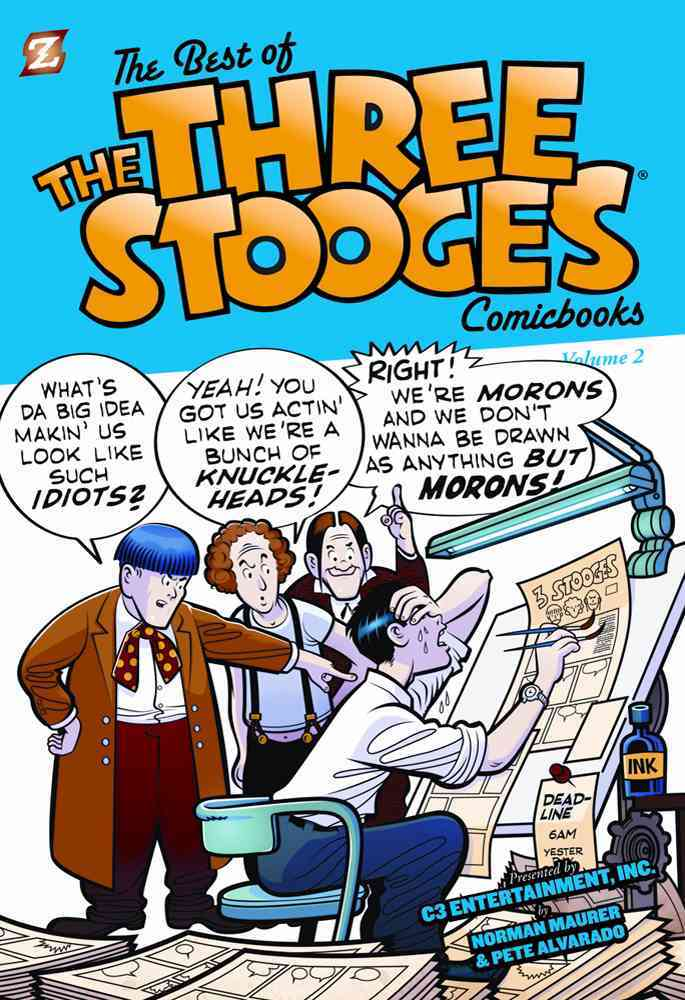 The Best of the Three Stooge Comicbooks 2 (Hardcover)