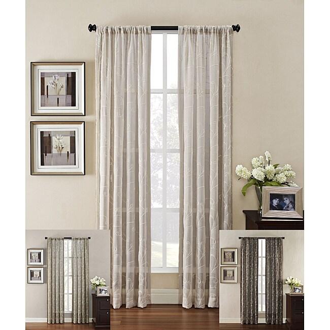 Heirloom Rod Pocket 63-inch Curtain Panel