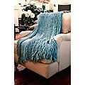Charlotte Acrylic Soft Ruffle Throw