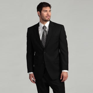 MICHAEL Michael Kors Men's 2-button Black Suit