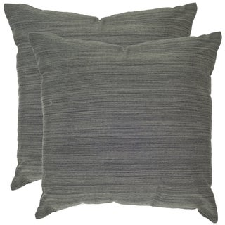 Poolside 20-inch Outdoor Slate Pillows (Set of 2)