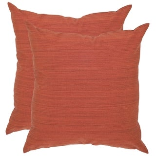 Safavieh Poolside 20-inch Outdoor Sienna Pillows (Set of 2)