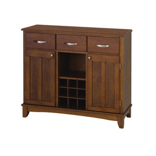 Medium Cherry Buffet with Wood Top