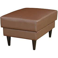 Cool Faux Leather Ottoman