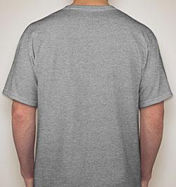 Men's 'T-Rex Hates Pushups' Cotton T-shirt