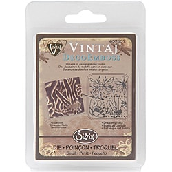 Sizzix Vintaj DecoEmboss 'Dragonfly Pond' Embossing Folder