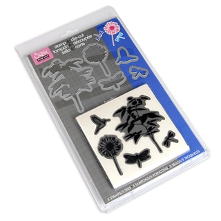 Sizzix Fern Framelits Dies With Clear Stamps (Pack of 5)