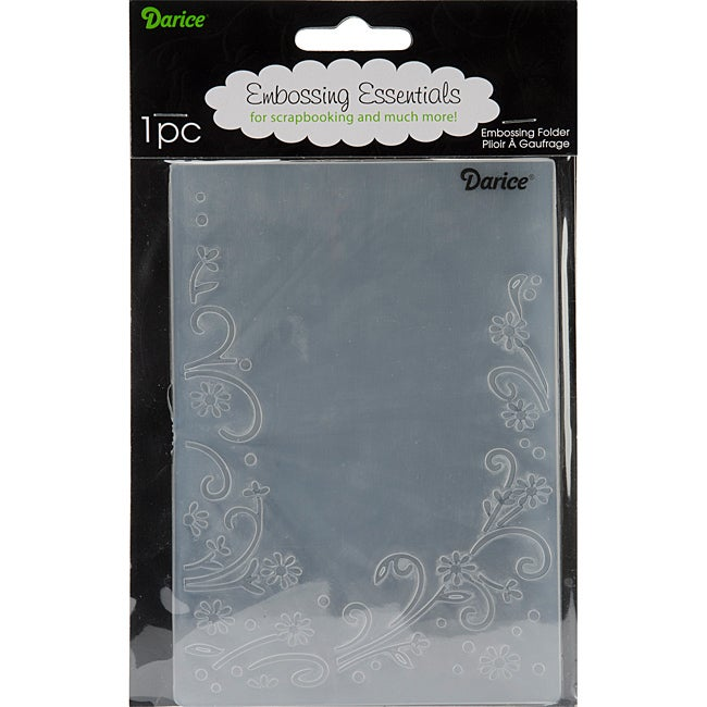 Floral Border Embossing Folder