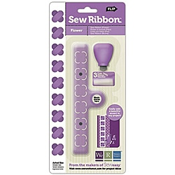 We R Memory Keepers Sew Ribbon 'Flower' Tool/ Stencil
