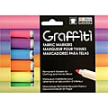 Fluorescent Graffiti Fabric Marker (Pack of 5)