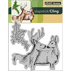 Penny Black Cling Rubber Stamp-Forest Friends