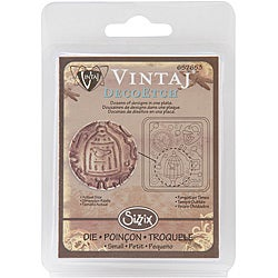 Sizzix Vintaj DecoEtch 'Forgotton Times' Etching Plate