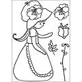 Kaisercraft Lil' Primrose 'Garden Party' Clear Stamps
