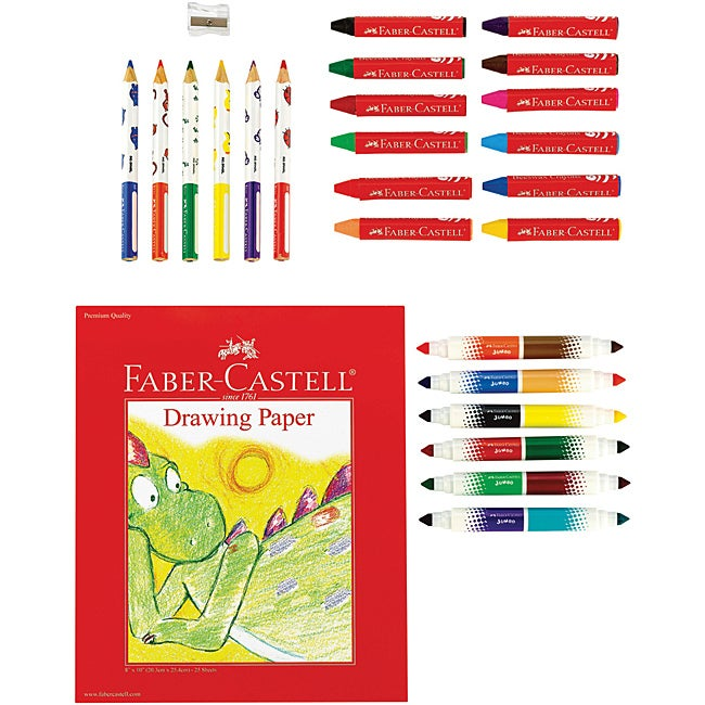 Creativity For Kids Young Artist 28-piece Coloring Gift Set