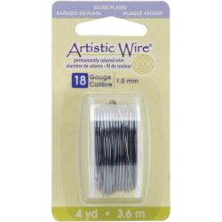 Beadalon 'Hematite' 18-gauge Artistic Wire (4 Yards)