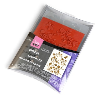 Sizzix Textured Impressions Embossing Folder & Stamp Set-Hero Arts Silhouette Vines