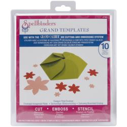 Spellbinders Grand Calibur Dies-Hexagon Petal Envelope
