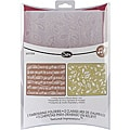 Sizzix Textured Impressions 'Holly Swirls/Sheet Music' Embossing Folders (2/pkg)