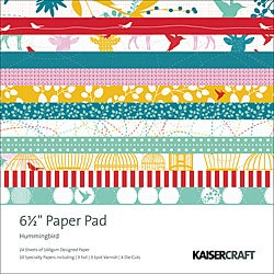Kaisercraft 'Hummingbird' 40-sheet Scrapbook Paper Pad