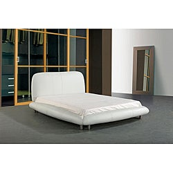 Queen-size Leather Bed