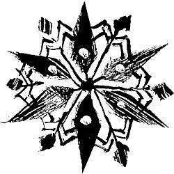 Penny Black 'Kaleidoscope' Rubber Stamp