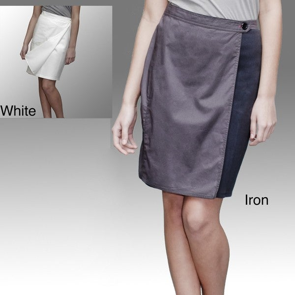 A to Z Turkish Cotton Wrap Skirt