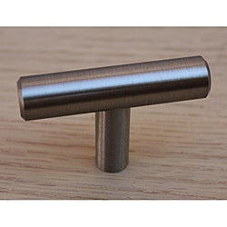 GlideRite 2-inch Solid Stainless Steel Cabinet Bar Knobs (Case of 25)
