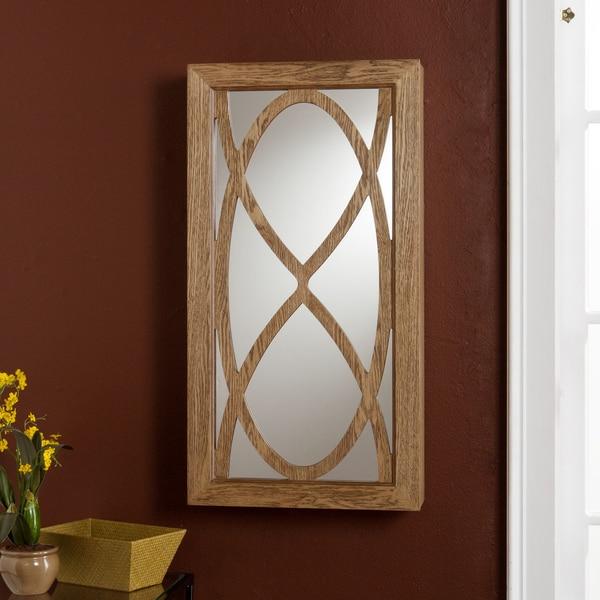 Upton Home Gracelynn Wall Mount Jewelry Storage Mirror