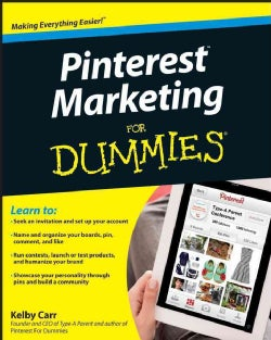 Pinterest Marketing for Dummies (Paperback)