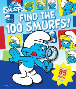 Find the 100 Smurfs! (Board book)