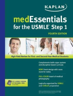 MedEssentials for the USMLE Step 1: High-yield Review for First- and Second-year Medical Students (Paperback)
