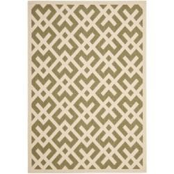 Poolside Green/ Bone Indoor Outdoor Rug (9' x 12')