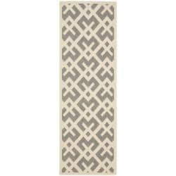 Poolside Grey/ Bone Indoor Outdoor Rug (2'4 x 6'7)