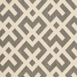 Poolside Grey/ Bone Indoor Outdoor Rug (8' x 11'2)