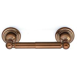 Belle Foret Tumbled Bronze Toilet Paper Holder