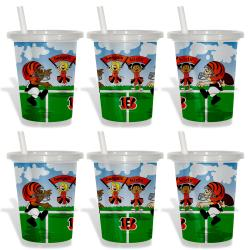 Cincinnati Bengals Sip and Go Cups (Pack of 6)