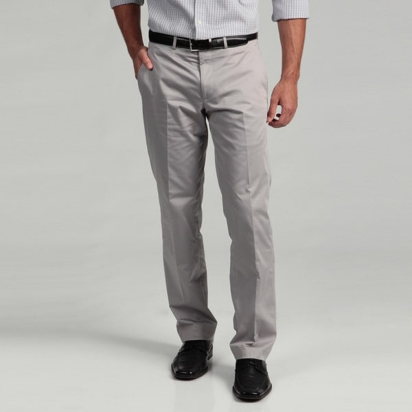 Kenneth Cole New York Men's Light Grey Pants