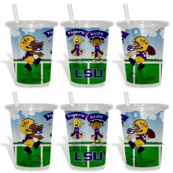 LSU Tigers Sip and Go Cups (Pack of 6)