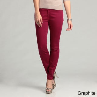 Kensie Women's Colored Denim Slim Fit Pants
