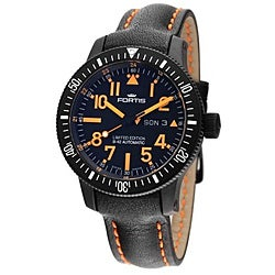 Fortis Men's Limited Edition Black Mars Automatic Watch