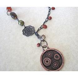 Urban Mixed Metal Necklace