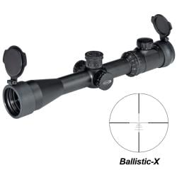 Weaver Kaspa 1.5-6x26mm Ballistic-X Reticle Extreme Tactical Riflescope