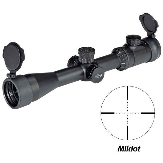 Weaver Kaspa 2.5-10x44mm Mildot Reticle Extreme Tactical Riflescope