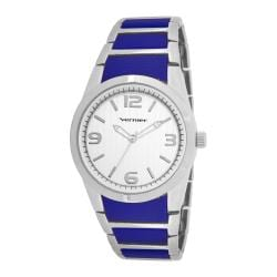 Vernier Women's V11100SS Metal and Plastic Fashion Watch