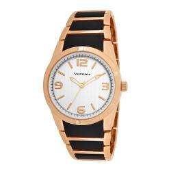 Vernier Women's V11100RG Metal and Plastic Fashion Watch