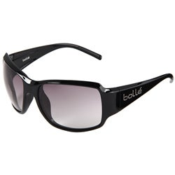 Bolle Women's Queen Black Fashion Sunglasses