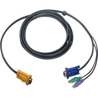 6' PS2 VGA KVM CABLE