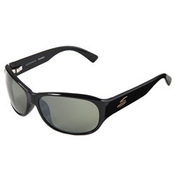 Serengeti Giada Women's Shiny Black Driving Sunglasses