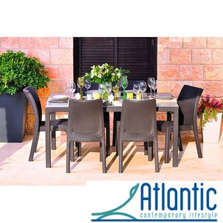 Mykonos Brown 7-pc Dining Set