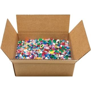 Boxed Mixed Plastic Beads (5 pounds)